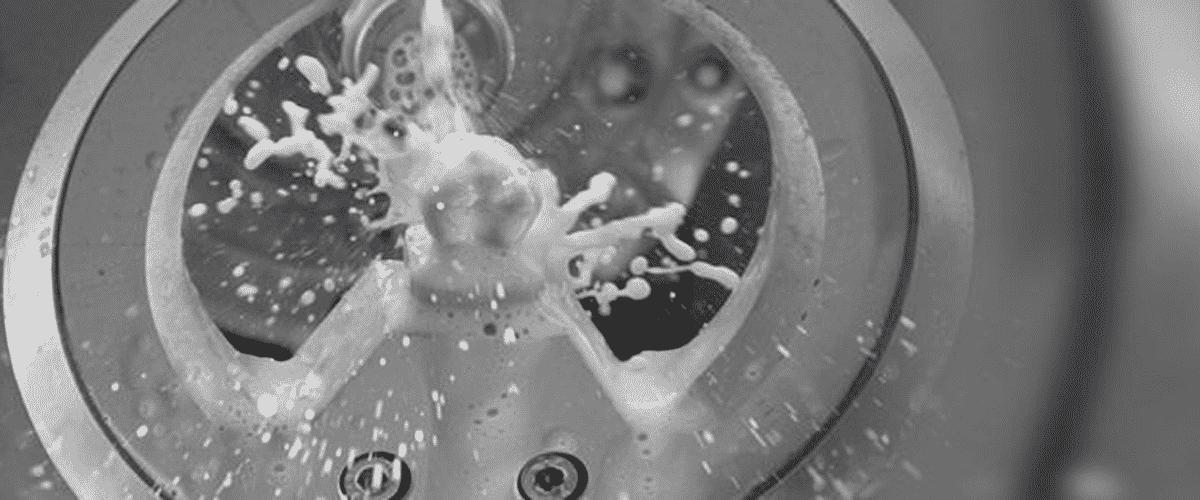 Usinage sous spray de refroidissement